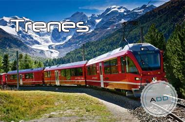 Trenes en toda Europa